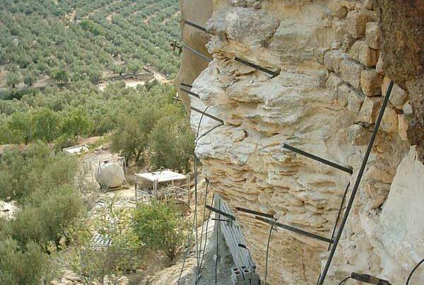 Estabilización de la muralla del castillo de Alcalá la Real - Jaén